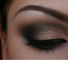 Smokey grey & gold eye