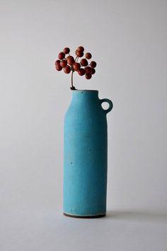 Blue ceramic.                                                       …
