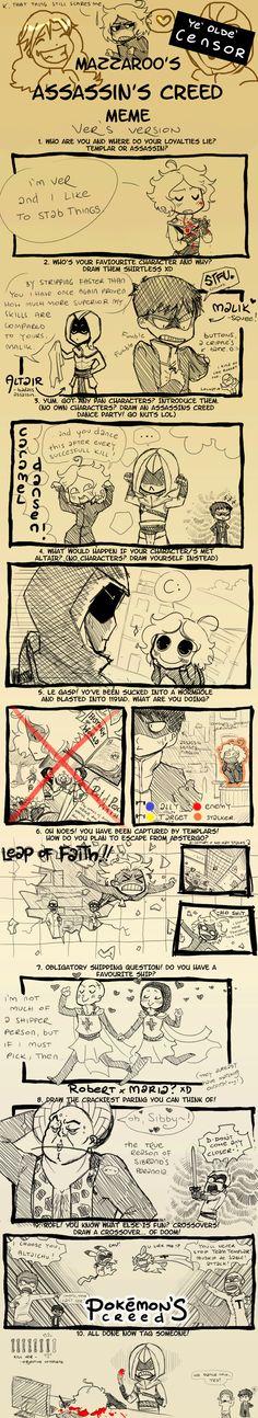 Assassins Creed Meme LOLWUT2 by ~verallien on deviantART