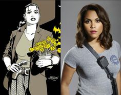 Monica Raymund as Renee Montoya