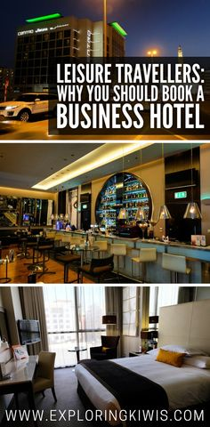 Business hotels can be a great option for leisure travellers. Save money, sleep comfortably and maximise your travel budget. Find out why we love business hotels when we're on vacation!