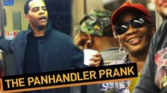 video - Panhandler Pranks Entire Subway Car - You MUST listen to the entire video, it's not what you think. Trust me you will have a smile and possibly a good laugh after watching this. Good times all around.
