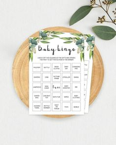 21 Fun Baby Shower Games Your Guests Will Actually Enjoy Fun Baby Shower Games, Baby Shower Bingo, Bingo Cards, Printable Cards, Free Baby Stuff, Cool Baby Stuff, Baby Animal Names, Baby Bingo, The Calling