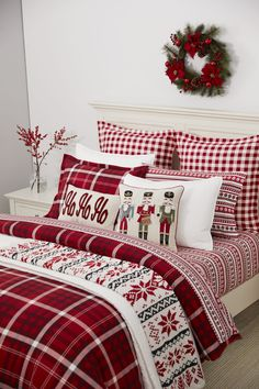 The Best Martha Stewart Products to Buy on Black Friday and Cyber Monday Luxury Home Decor, Fall Home Decor, Home Decor Bedroom, Martha Stewart Home, Flannel Duvet Cover, Plaid Bedding, Christmas Bedding, Cafe Interior, Interior Design