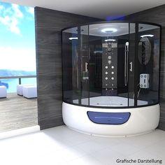 TroniTechnik Dampfdusche Duschtempel Whirlpool Badewanne Komplettdusche  Duschkabine Kaufen Bei Hood.de