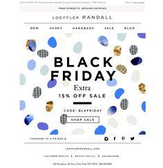 #newsletter #blackfriday Loeffler Randall 11.2014 Ready. Set. Black Friday!