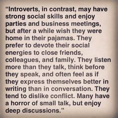 INTROVERT QUOTES image quotes at relatably.com