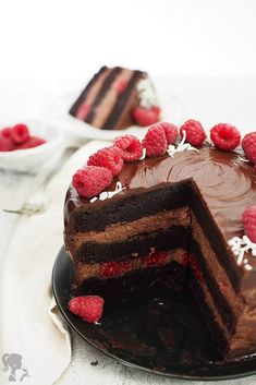 korpus Food Hacks, Chocolate Cake, Baking Recipes, Cheesecake, Food And Drink, Sweets, Cooking, Ethnic Recipes, Cakes