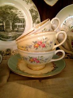my favorite teacups