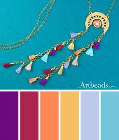 Swarovski Summer Color Palettes