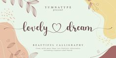 Lovely Dream (30% discount, 8,39€)