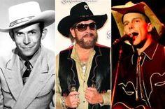 Hank Williams I, II, and III