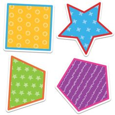 School Tools Colorful Cut-Outs®, Shapes, CD120512