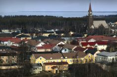 Old Raahe, Northern Ostrobothnia province of Finland . - Pohjois-Pohjanmaa