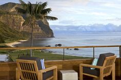 Luxurious Capella Lodge rests atop romantic Lovers Bay on Lord Howe Island
