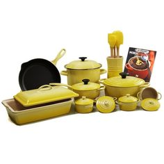 LE CREUSET 20-piece Cookware Set Soleil $699.95 BEST PRICE GUARANTEE FREE WORLD SHIPPING (LOCAL ORDER PICK UP IS ALSO AVAILABLE & GET 20% OFF)