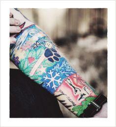 Ed Sheeran And Taylor Swift Matching Tattoos