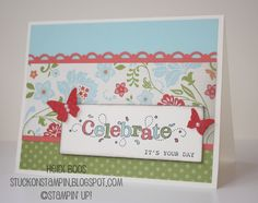 stampin up outlined occasions stamp set - Google Search