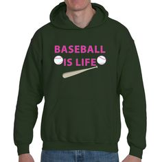 Underground Statements ~ Products ~ Baseball Life| Heavy Blend™ Fleece Hoodie | Underground Statements ~ Shopify