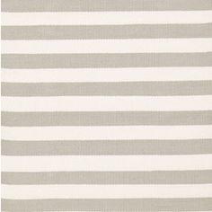Dash & Albert Indoor/Outdoor Trimaran Stripe Platinum & Ivory Rug DARDB191