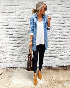 50 Stunning Casual Outfit Ideas For Wome. 50 Stunning Casual Outfit Ideas For Wome. 50 Stunning Casual Outfit Ideas For Women To Look Chic Casual Chic Outfits, Layering Outfits, Work Casual, Comfy Work Outfit, Smart Casual, Casual Weekend Outfit, Weekend Wear, Girls Weekend Outfits, Casual Shopping Outfit