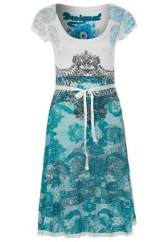 Desigual PARIS - Jersey dress - white - Zalando.co.uk