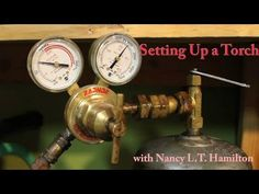Solder Girl is back! In this video, Nancy shows you how to set up a new tank for your torch. You will learn how to check your tank and regulator for leaks, h. Jewelry Tools, Metal Jewelry, Amber Jewelry, Jewelry Crafts, Jewlery, Silver Jewelry, Jewelry Making Tutorials, Jewelry Armoire, Metal Working