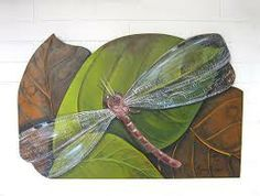 argina seixas - Buscar con Google Tropical Wall Decor, Hand Painted Furniture, Plant Leaves, Crafty, Plants, Painting, Bowls, Google, Ideas