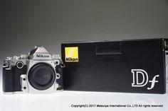 NIKON Df Body Silver 16.2 MP Digital Camera Shutter Count 3820 Excellent+ #Nikon