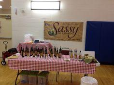 Healthy Fair at a local Community Center