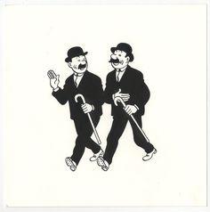 Dupont et Dupond - Hergé