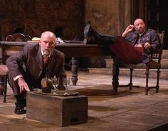 Malkovich and Yasen Peyankov in Steppenwolf's 2005 production of Lost Land by Stephen Jeffreys, directed by Terry Johnson Jack Unterweger, Joan Allen, Sam Shepard, Dangerous Liaisons, Gary Sinise, John Malkovich, The Libertines, Tennessee Williams, West End