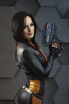 Miranda Lawson from Mass Effect 2 by Hannuki.deviantart.com