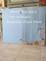 Creare effetto finto legno con i prodotti Autentico Paint