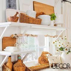 Com décor em madeira, o ambiente rústico exala elegância e harmonia