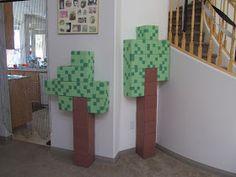 Minecraft trees....