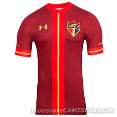 6f0ae8498d1fb Camisa 3 do Sao Paulo Under Armour 2015 Uniformes De Futbol