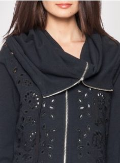 """This super cute """"jacket"""" by Johnny Was...perfect with some bright top underneath for contrast. Love this line - even if mainly not my style, things are so nicely made/great fabrics."""