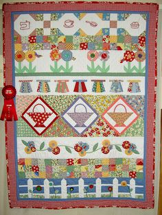 Row Quilt by jlapac, via Flickr