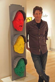 les Sculptures en LEGO incroyables de Nathan Sawaya