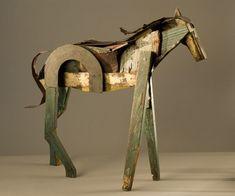 Segunda publicación dedicada a este escultor estadounidense cuya obra me encanta.  Más imágenes e información en el post previo .     Seco...