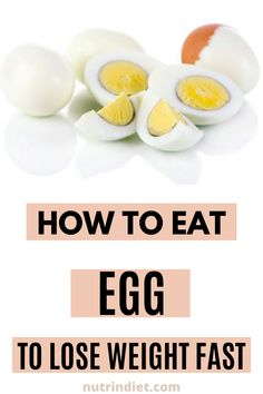 ...so if you want to increase your protein intake, you can add more egg whites, you can make an omelet with vegetables, and then it gets more interesting to complement your diet... #HealthyFoods #DietTips Healthy Diet Tips, Healthy Recipes, Eggs And Sweet Potato, Types Of Diets, Egg Diet, Omelet, Egg Whites, Boiled Eggs, How To Lose Weight Fast