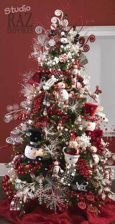 Grinch Christmas Tree, Creative Christmas Trees, Christmas Trees For Kids, Christmas Tree Design, Christmas Tree Themes, Noel Christmas, Christmas Tree Decorations, White Christmas, Xmas Trees