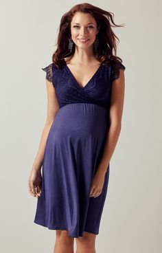 Nina Maternity Dress Dusky Blue Maternity Wedding Dresses Evening Wear and Party Clothes by Tiffany Rose Maternity evening dress Maternity Evening Wear, Maternity Dress Outfits, Maternity Fashion, Maternity Wedding, Long Prom Gowns, Evening Dresses, Pregnant Party Dress, Robes Glamour, Pregnancy