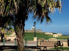 Vista desde Ballajá del Morro. Outdoor Furniture, Outdoor Decor, Bench, Park, Home Decor, Decoration Home, Room Decor, Benches, Parks