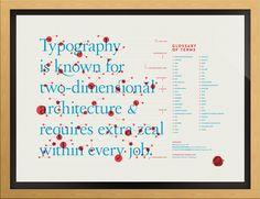 Typographic Lesson Plan Print
