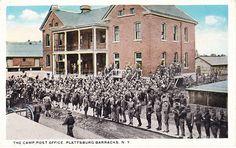 Vintage Postcard from Plattsburg, NY