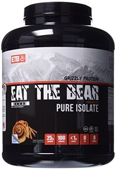 ETB Eat The Bear Grizzly Protein Pure Isolate Cinnamon Bun 5 Pound For Sale https://probioticsandweightloss.info/etb-eat-the-bear-grizzly-protein-pure-isolate-cinnamon-bun-5-pound-for-sale/