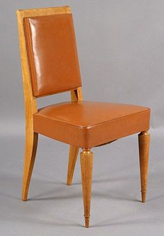 Deco Dining Chairs | From a unique collection of antique and modern dining room chairs at https://www.1stdibs.com/furniture/seating/dining-room-chairs/