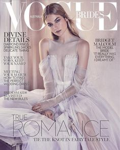 look: Vogue Brides 2017 is here First look: Vogue Brides 2017 is here: Bridget Malcolm covers the 2017 issue of Vogue Brides.First look: Vogue Brides 2017 is here: Bridget Malcolm covers the 2017 issue of Vogue Brides. Vogue Magazine Covers, Fashion Magazine Cover, Fashion Cover, Vogue Covers, Vogue Bride, Vogue Wedding, Dresses Australia, Vogue Australia, Australia 2017